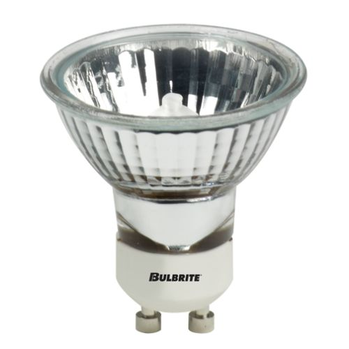 Bulbrite 620151 Pack of (5) 50 Watt Dimmable MR16 Shaped GU10 Base Halogen Bulbs