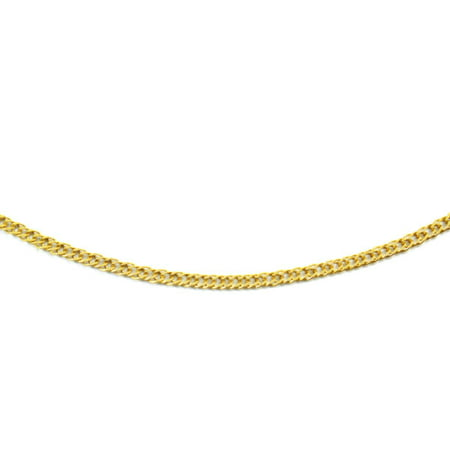 14K Yellow Gold Double Open Link Chain 1 9Mm