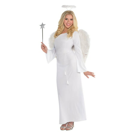 White Angel Costume For Women (Heaven Sent Angel Woman)