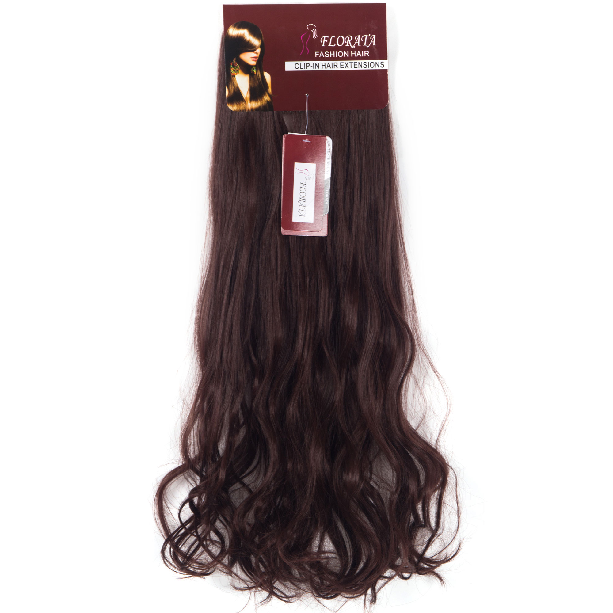 Florata 24 Women Curly Long Hair In Hair Extensions 8 Pieces 19
