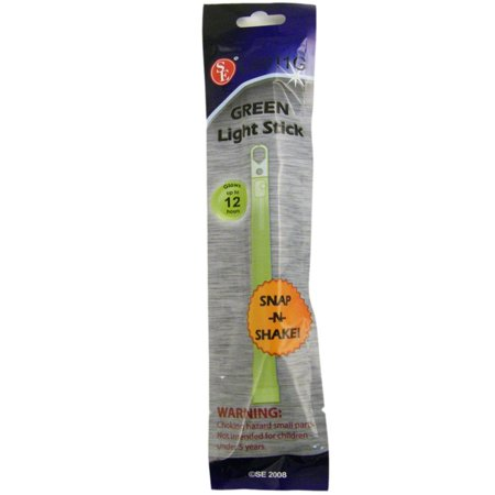 ASR Outdoor Emergency Glow Stick BOB High Visibility Night Vision, 6 inch - Night Games With Glow Sticks