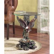 SWM 33699 20'' Dia.  x 23 1/2'' H Dramatic Eagle Table