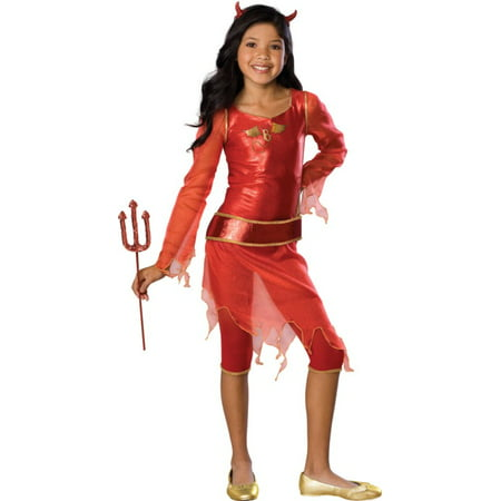 Kids Halloween Costume Girl Bratz She-Devil Outfit S Girls Small (3-4 years) (Bratz Costumes)