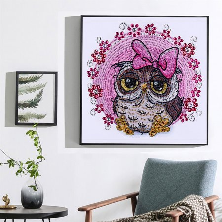 DIY 5D Diamond Painting Kits DIY Drill Diamond Painting Needlework Crystal Painting Rhinestone Paintings Arts Craft for Home Wall Decor Gift 30*30cm - image 5 of 7