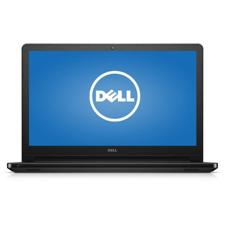 Dell Black 15.6  Inspiron 5000 Series i5555-2144BLK Laptop PC with AMD A8-7410 Processor, 8GB Memory, touch screen, 1TB Hard Drive and Windows 10 Home Get a FREE GAME download with purchase, visit www. amd.com/amdgamepromo for eligibilityDell 15.6  Inspiron 5000 Series i5555-2144BLK Laptop PC: Key Features and Benefits: AMD A8-7410 processor2.5GHz8GB DDR3L SDRAM system memory (expandable to 16GB)Gives you the power to handle most power-hungry applications and tons of multimedia work1TB SATA hard driveStore 666,000 photos, 285,000 songs or 526 hours of HD video and moreTray-load DVD driveWatch movies and read and write CDs and DVDs in multiple formats10/100Base-T Ethernet, 802.11b/g/n Wireless LANConnect to a broadband modem with wired Ethernet or wirelessly connect to a WiFi signal or hotspot with the 802.11b/g/n connection built into your PC15.6  LED-backlit touchscreen with Truelife and HD resolutionAMD Radeon R5 GraphicsAdditional Features:720p webcam with microphoneBluetooth3-in-1 memory card reader1 x USB 3.0 ports, 2 x USB 2.0 ports, 1 x HDMI port, 1 x Ethernet port, 1 x DC-in4-cell battery with up to 8 hours and 22 minutes of battery life5.47 lbs, 14.9  x 0.95  x 10.25 Software: Genuine Microsoft Windows 10 Home 64-bitMicrosoft Office trialMcAfee CB LiveSafe 30-day trialBackup and Restore options built into Windows allow you to create safety copies of your most important personal files, so you're always prepared for the worstSupport and Warranty:1-year limited hardware warranty; 24/7 technical assistance available online or toll-free by phoneRestore discs are not included (unless specified by supplier). We recommend you use the installed software to create your own restore and backup DVD the first week you use the computer. What's In The Box: Power cord and AC adapter4-cell batteryQuick Start GuideTo see the manufacturer's specifications for this product, click here. To see a list of our PC Accessories, click here. Trade in your used computer and electronics 