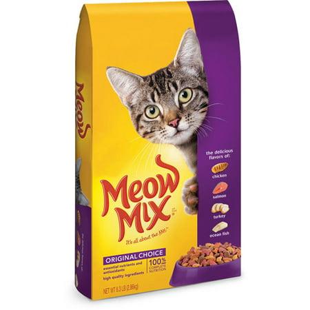Meow Mix Dry Cat Food Reviews