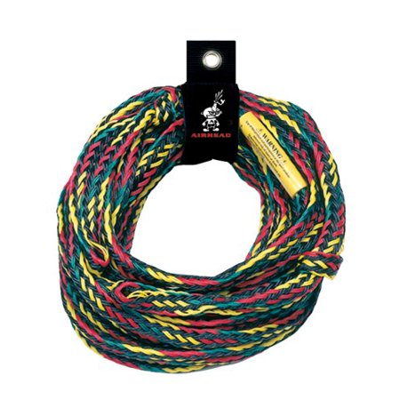 AHTR-4000, 4 Rider Tube Tow Rope, 9/16 in. x 60 ft. braided polypropylene tow rope By Airhead