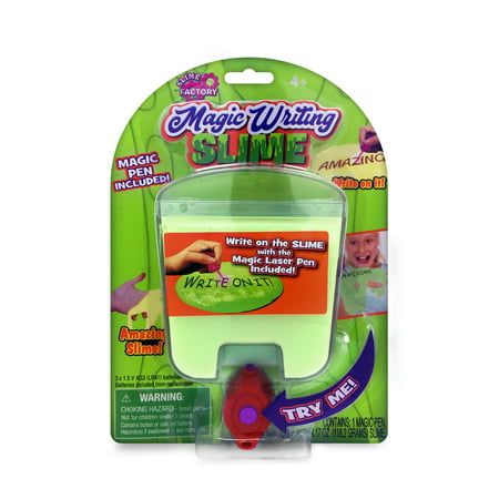 2-Pack of Magic Writing Slime: Write Secret Messages On Your Slime!