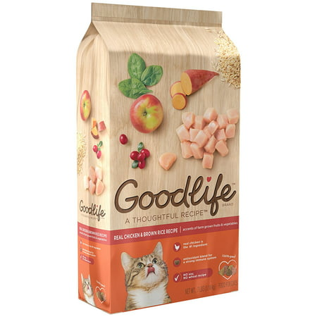 The goodlife recipe dry cat food with real chicken brown rice the goodlife recipe dry cat food with real chicken brown rice forumfinder Images