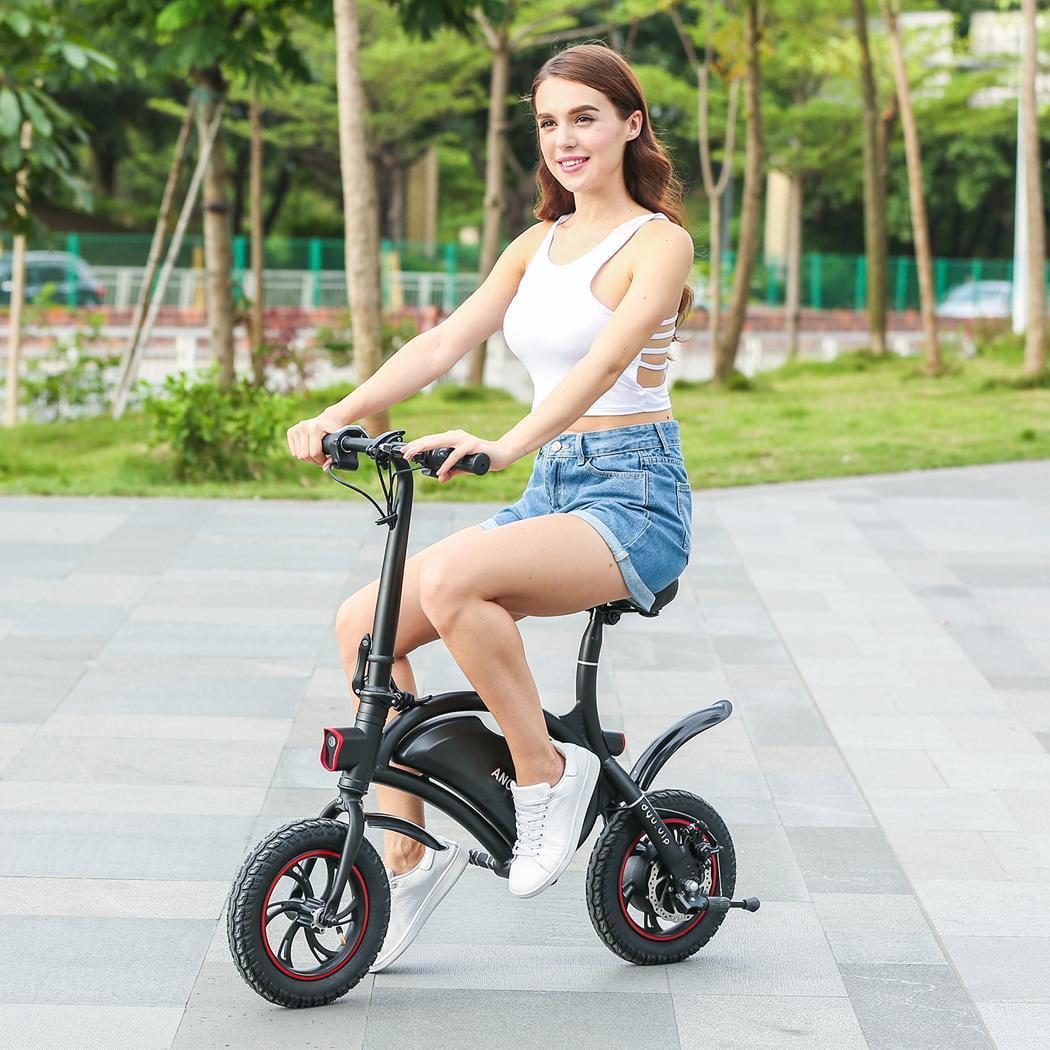 350W Folding Electric Bike Adjustable Electric Power Bicy...