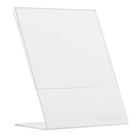 Polaroid Clear Acrylic L Shaped Photo Frame For 2x3 Photo Paper (POP) - Polaroid Frame Prop