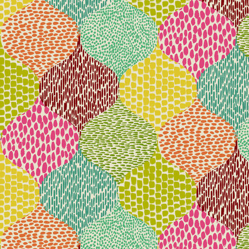 Waverly Inspirations Teardrop Hot Pink 100% Cotton Duck Fabric 45'' Wide, 180 Gsm, Quilt Crafts Cut By The Yard