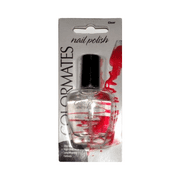 ColorMates Nail Polish, Clear, 0.47 Fl Oz