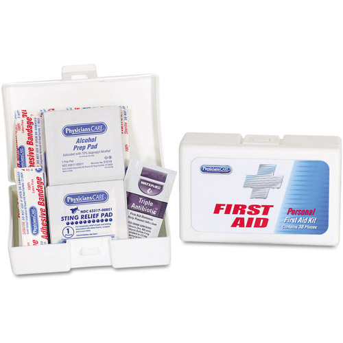 PhysiciansCare Personal First Aid Kit, 38 pc