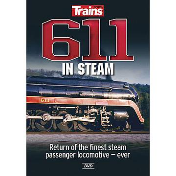 611 In Steam DVD (Explore the history and 2015 restoration of world famous Norfolk & Western Class J 611) ()