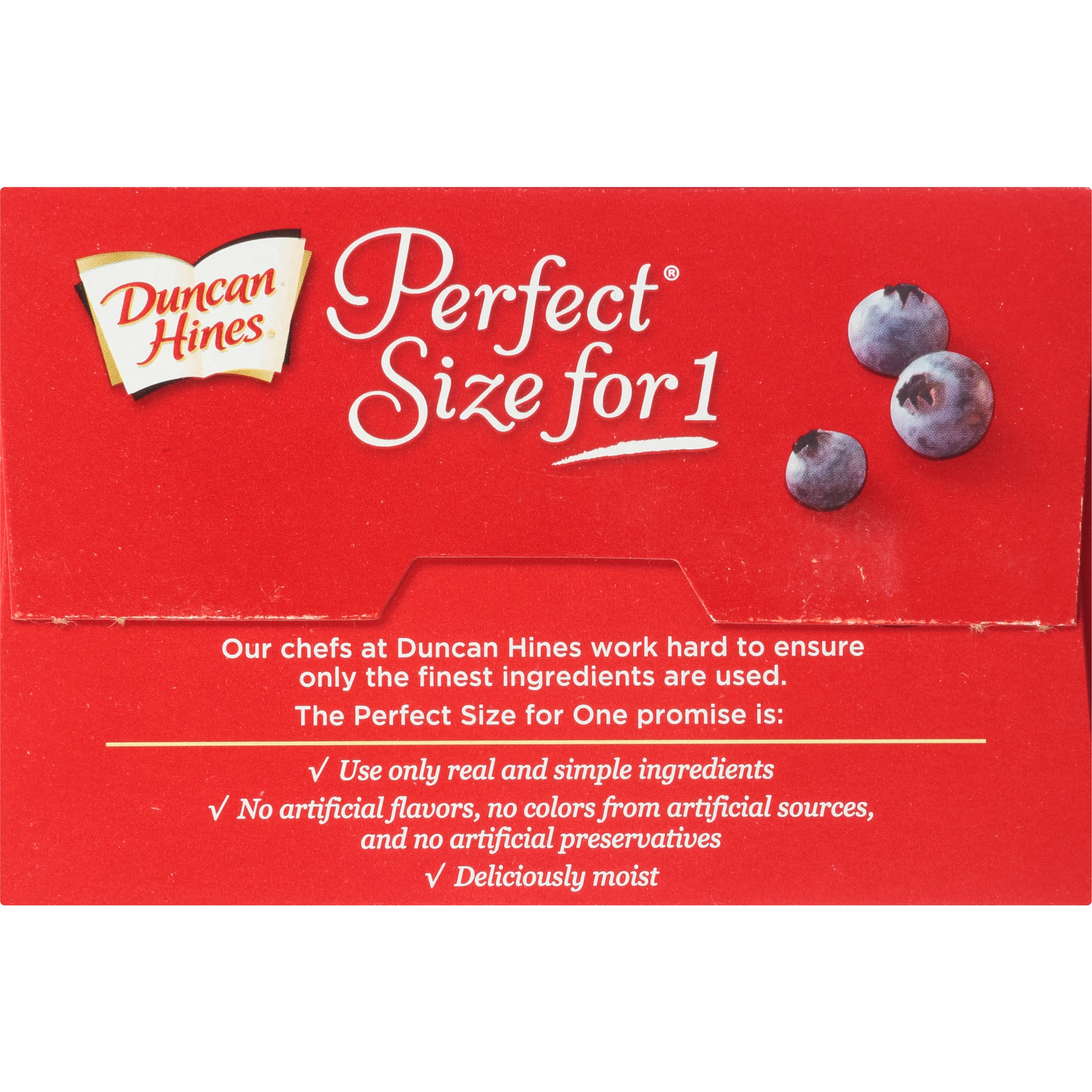 Duncan Hines® Perfect Size for One® Sunrise Blueberry Muffin Mix 2 ...
