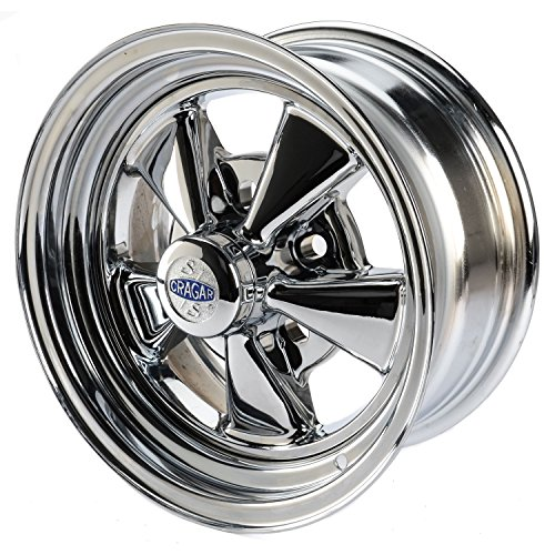 "Cragar 61 Chrome Wheel (15x7""/5x4.5"")"