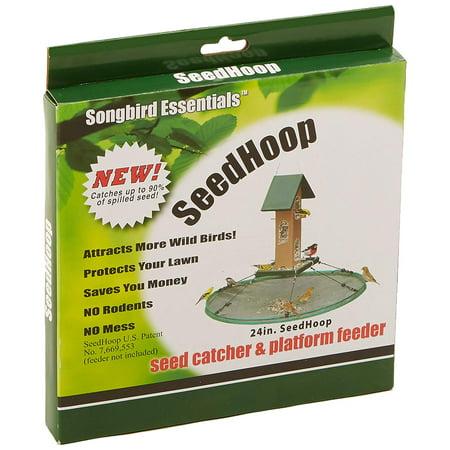 Seed Catcher Platform - SEIA30024 Seed Hoop Seed Catcher & Platform Feeder, Seed Hoop Seed Catcher and Platform Feeder 008075. Wild Bird Feeders And Accessories By Songbird Essentials