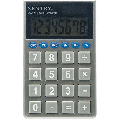 Sentry Jumbo-Key Pocket Calculator