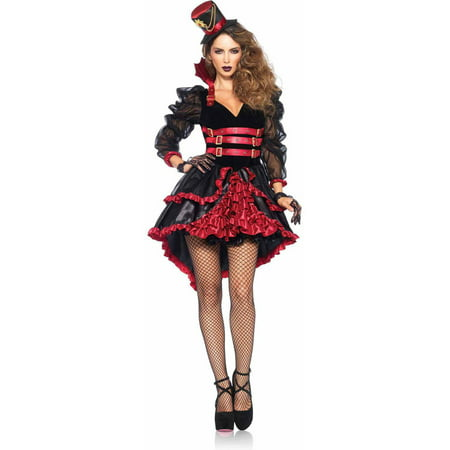 Leg Avenue 3-Piece Victorian Vamp Adult Halloween - Victorian Costumes For Adults