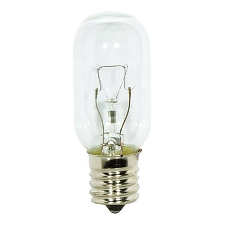 Satco S3917 - 40 Watt Light Bulb - T8 - Clear - Intermediate Base - 2,000 Life Hours - 370 Lumens - 130