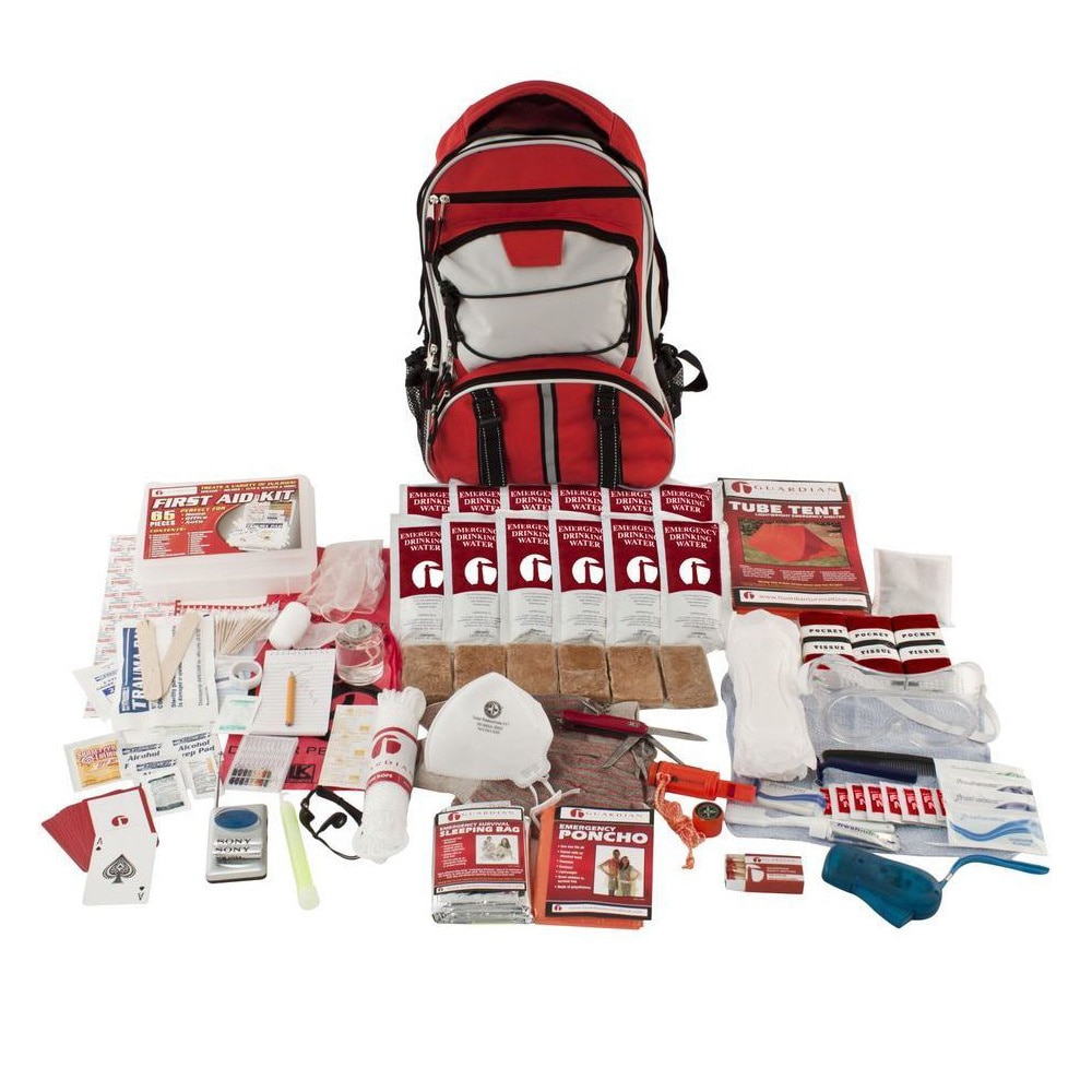 Guardian Survival Gear Guardian Elite Survival Kit by Overstock