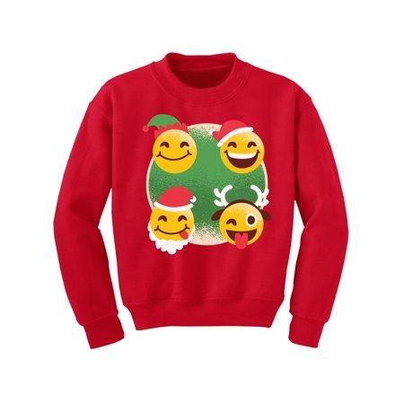 Awkward Styles Ugly Christmas Sweater for Boys Girls Kids Youth Xmas Smile Sweatshirt ()