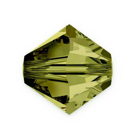 Olivine Austrian Crystal - Swarovski Crystal Bicone Beads 5328 3mm Olivine (Package of 10)