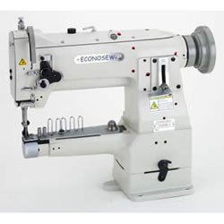 Econosew Narrow Cylinder-arm Lockstitch Machine 155E8BLV w/ Unison Feed & Walking Foot w/ table & motor ()