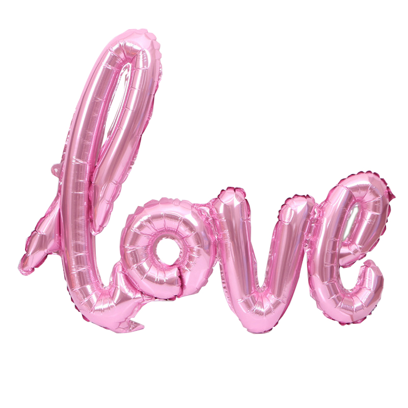 Letter Balloon, Outgeek Romantic Love Aluminum Foil Balloon Valentine's Day Wedding Dating Party Decor