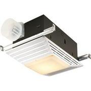broan exhaust fan heater and light 3 in 70 cfm - Ventless Bathroom Fan