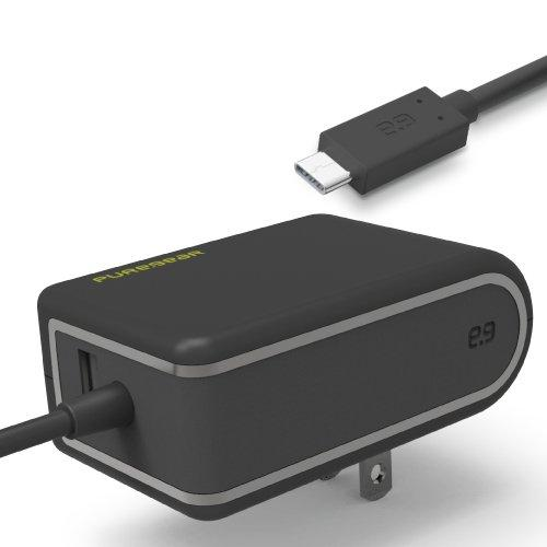 Puregear 10870vrp Usb-a To Usb-c[tm] Travel Wall Charger [black]