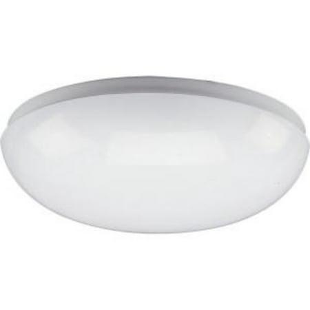 One-Light 11u0022 Round Cloud CFL Close-to-Ceiling