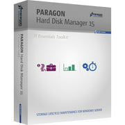 Paragon 299PMETLAS2 Hard Disk Manager 15 IT Essential Tool Kit, 1 Year, Up to 25 Seats (Email Delivery)