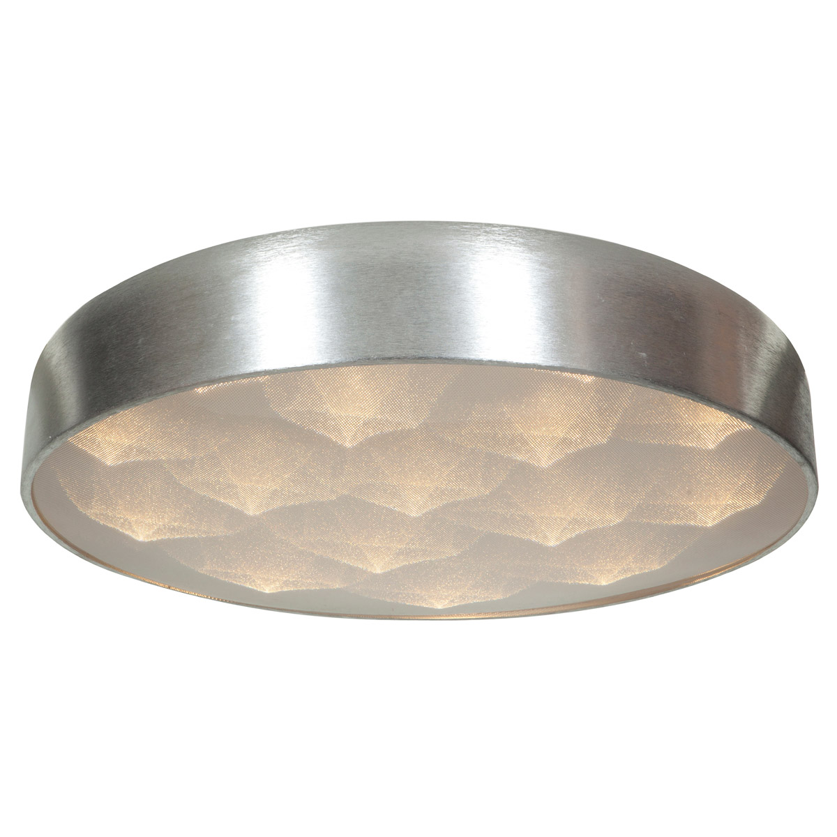 Access Lighting 70082LEDD-BSL ACR Meteor LED 23 inch Brushed Silver Flush Mount Ceiling Light by Access Lighting