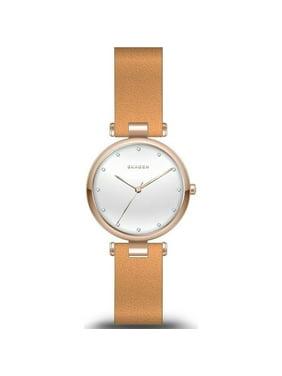 Skagen  Women's  'Tanja' Brown Leather Watch