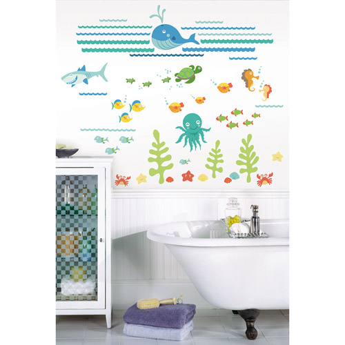 WallPops Under The Sea Applique Kit