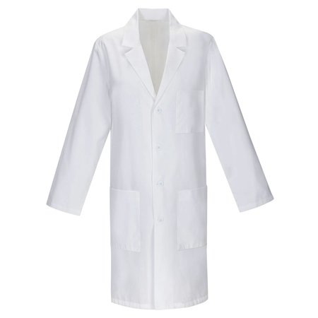 - Panda Uniform Made To Order 40-Inch Unisex Professional Four Button Lab Coat
