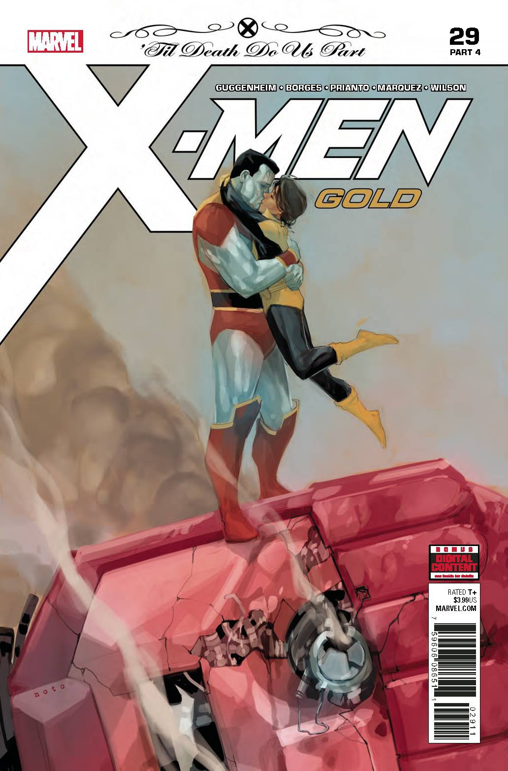 Marvel X-Men Gold #29 by