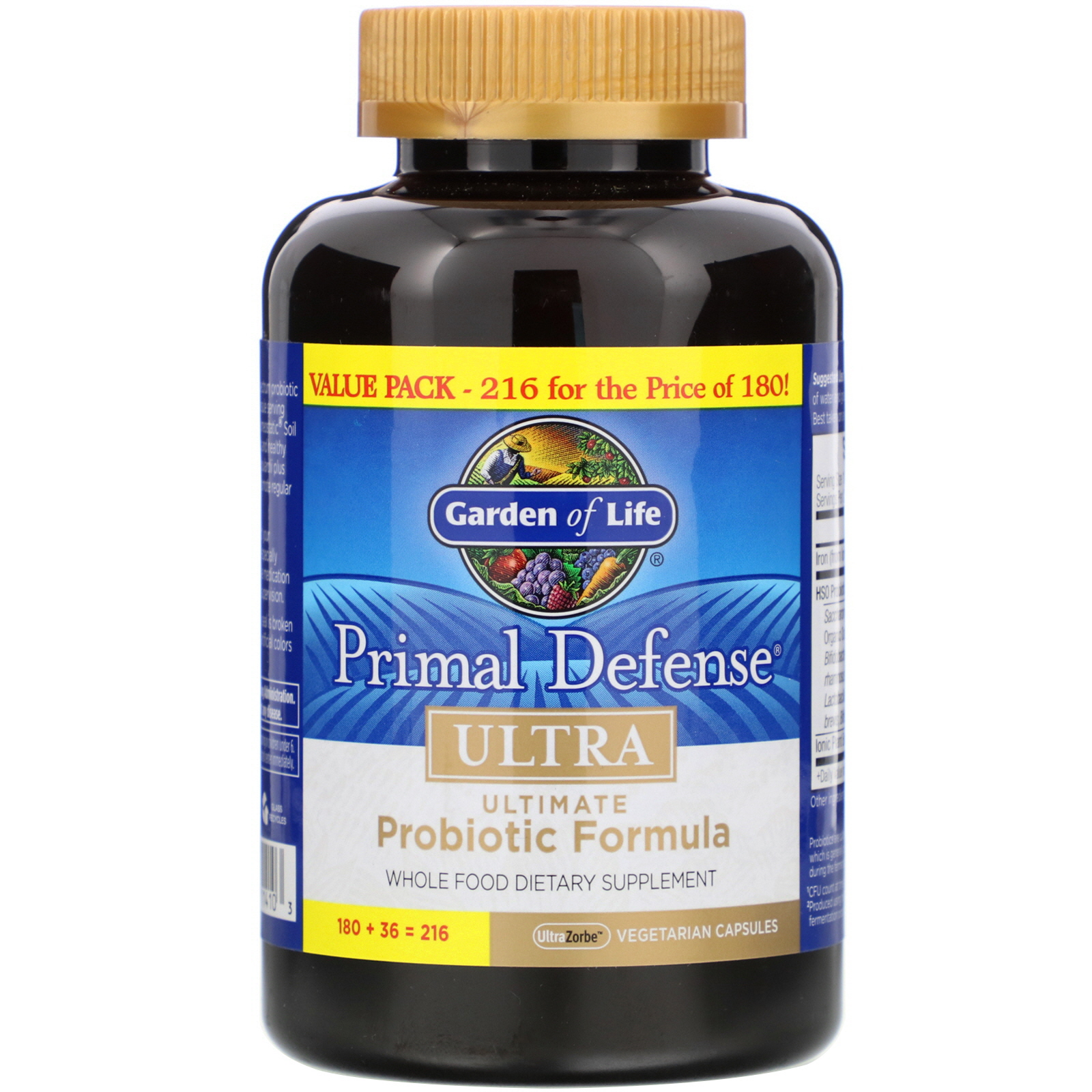 Garden Of Life Primal Defense Ultra Ultimate Probiotic