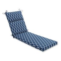 Indoor-Outdoor Garden Gate Navy Blue Chaise Lounge Cushion