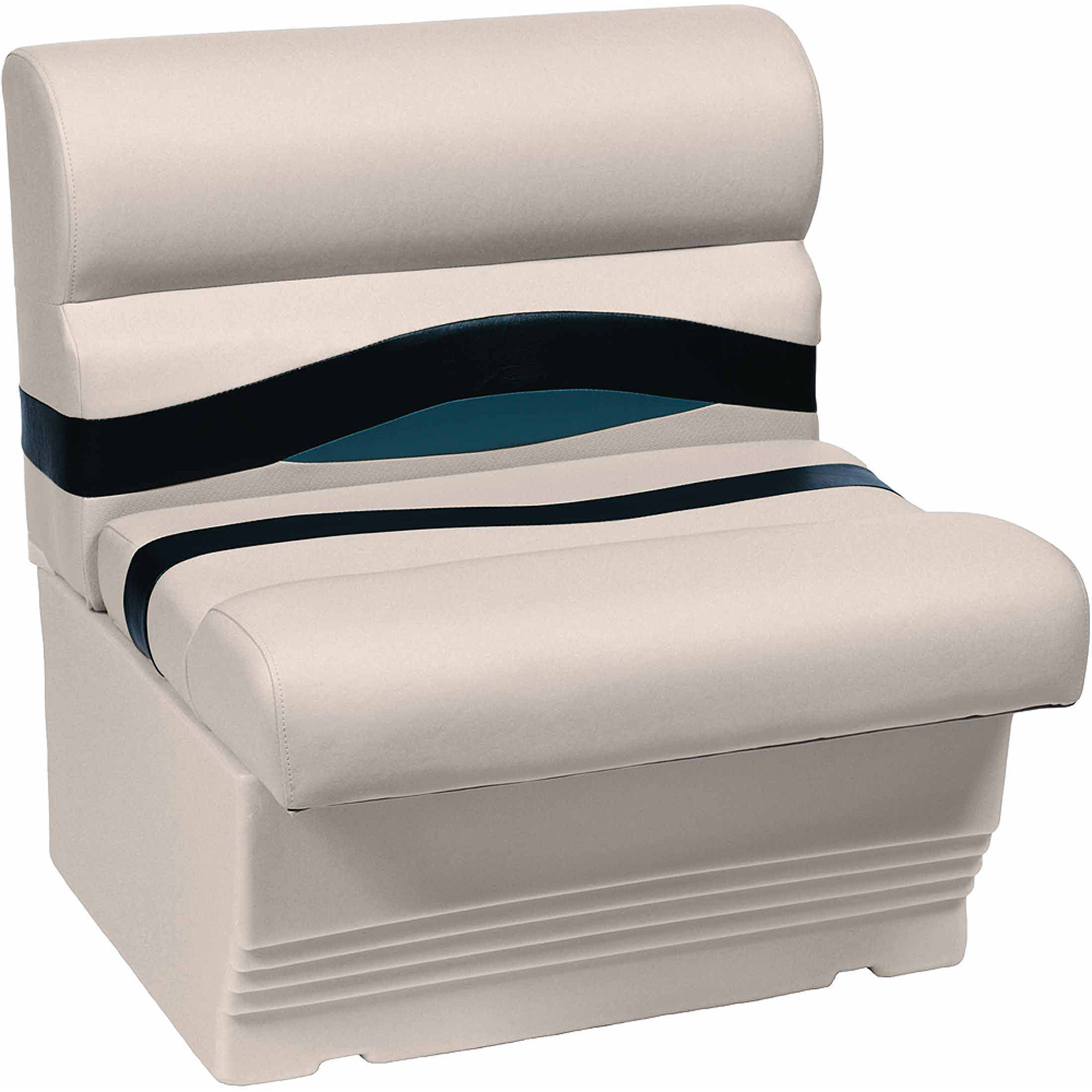 """Wise Premier Series Pontoon 27"""" Bench Seat and Base"""