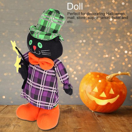 TOPINCN Cute Stretch Doll Toy Prop Halloween Party Mall Supermarket Store Decoration