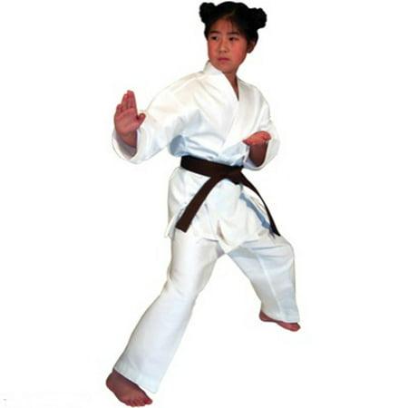 c1ac8aafe Light Weight White Martial Arts Karate Uniform - Walmart.com