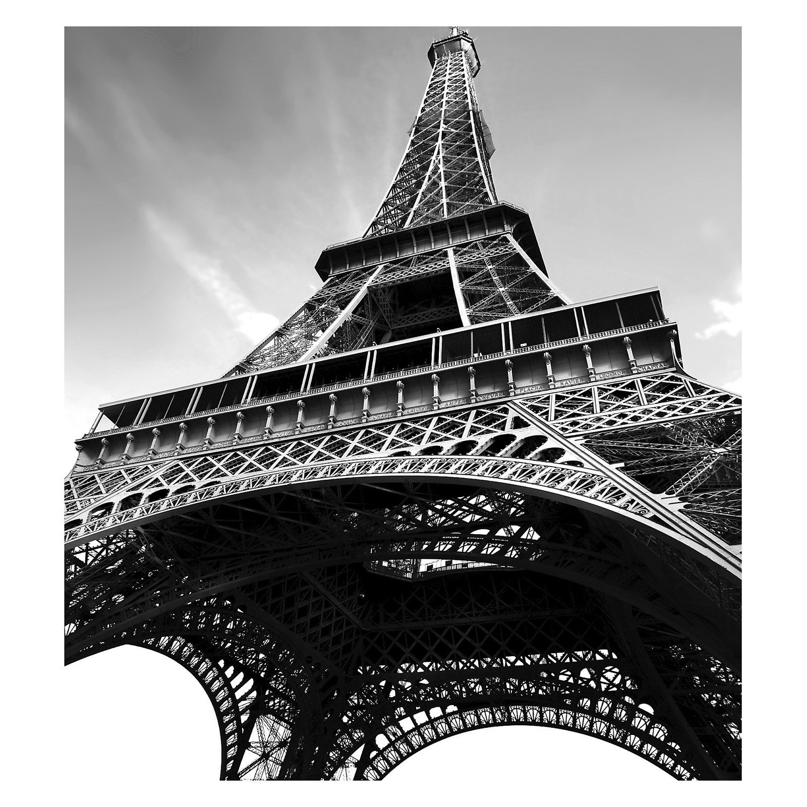 Paris Photographic Wall Panel Decals