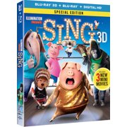 Sing (Blu-ray 3D + Blu-ray + Digital HD) (Widescreen)