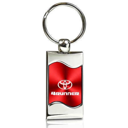 Toyota 4runner Replacement Bumper (Toyota 4 Runner Red Spun Brushed Metal Key Chain)