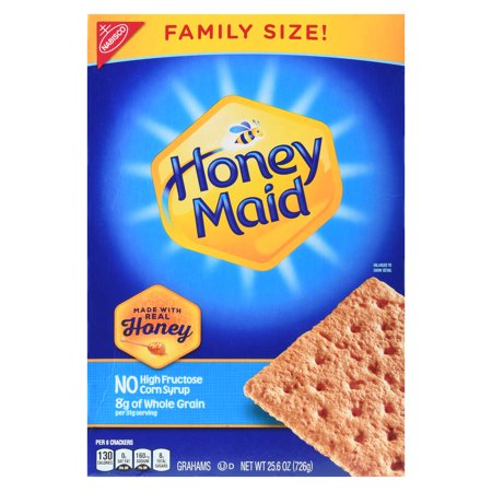 Nabisco Honey Maid Crackers Family Size, 25.6 Oz.