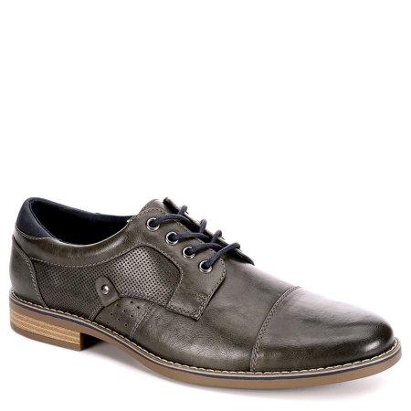 Restoration Mens Justin Lace Up Cap Toe Oxford Shoes ()