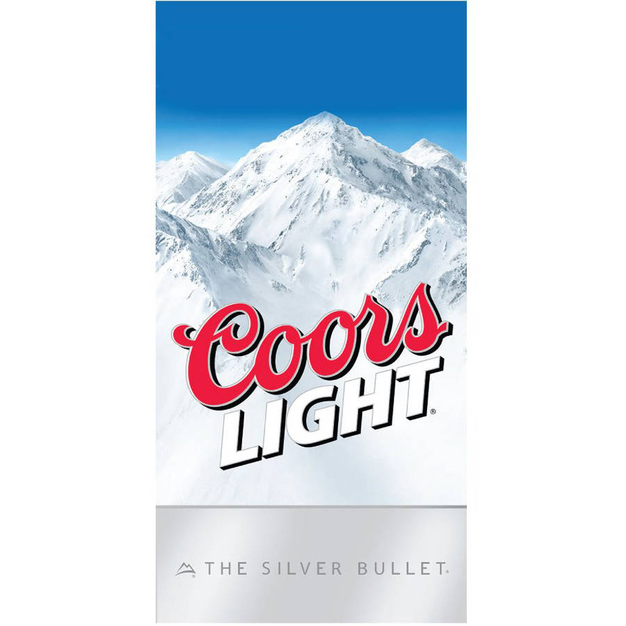 Coors Lite Beach Towel